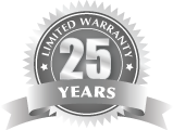 Infinity Decking 25 Year Warranty